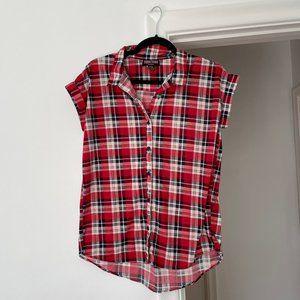 3 for $25 Seduction Sleeveless Plaid Summer Shirt